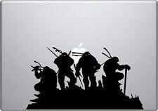 Teenage Ninja Turtle sticker for Mac Book/Air/Retina laptop.