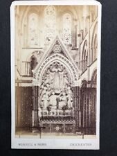 Victorian Carte De Visite CDV: Russell & Son: 6 of 12: Chichester Cathedral 1877