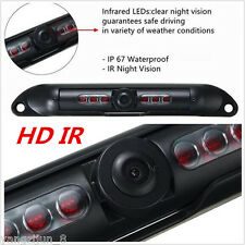 Car 6LED IR HD Rearview Reverse Backup License Plate Parking Camera Night Vision