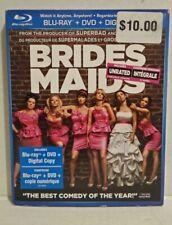 Bridesmaids (Blu-ray/DVD, 2011, Canadian, Slipcover)