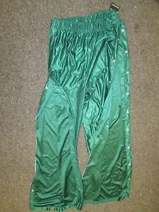 Mens Basketball Tear Away warm up pants  XL 2XL Red Green royal Blue NEW