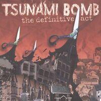 Definitive Act - TSUNAMI BOMB - CD 2004-09-21