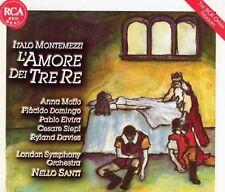 ██ OPER ║ Italo Montemezzi (*1875) ║ L'AMORE DEI TRE RE ║ Anna Moffo ║ 2CD