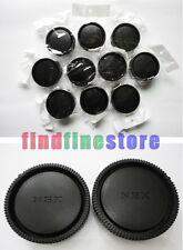 10x Rear lens + Body cap cover for Sony E mount NEX camera Wholesale lots 10 pcs