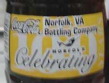 Norfolk, Viriginia 100 Years Coca-Cola Coke Bottle