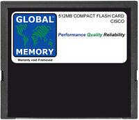 512MB COMPACT FLASH CARD MEMORY FOR CISCO ASA 5500 SERIES ( ASA5500-CF-512MB )