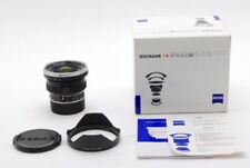 【TOP MINT】Zeiss Distagon T* 18mm f4 ZM black Lens Leica M Mount from JAPAN 247N