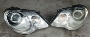 VW Volkswagen EOS 2007-2011 XENON HID Headlight Headlamp Set Driver & Passenger
