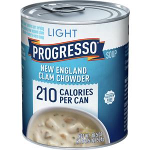 Progresso Light New England Clam Chowder 18.5 oz Can
