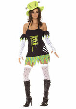 ELEGANT MOMENTS 9940 Women's ~ Monster Mistress ~ 5-PC Halloween Costume Small S