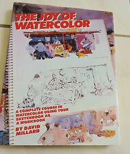 Art instruction book The JOY OF WATERCOLOR hardback/dj painting artists