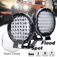 9 Inch 225W Round LED Work Light Spot Flood Driving Headlight offroad ATV