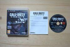 Ps3-Call of Duty: Ghosts - (OVP, con instrucciones)