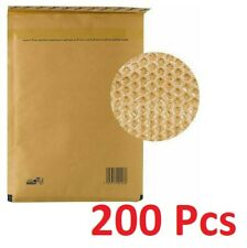 200 Pcs Padded Bubble Envelopes Durable Postal Wrap Bags Made In Greece
