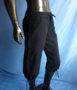 Short Medieval Trousers Pants (Black,Brown) - 4535
