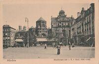 Historische Ansichtskarte München beschrieben 1923 nach Wien verschickt