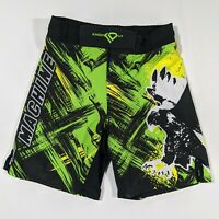 Knockout MMA Green Machine Kickboxing Shorts Men Small S Falcon Tapout Training