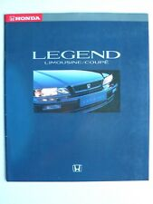 Prospekt Honda Legend Limousine/Coupe 3.2i V6, 1991, 24 Seiten, 33x29 cm