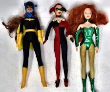 Barbie as Bat Girl Poison Ivy & Harley Quinn Collectible Dolls Mattel DC Comics