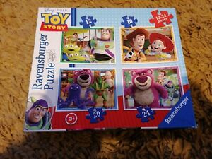 Toy Story 4  Jigsaw Puzzle -  4 Puzzles in a Box Ravensburger