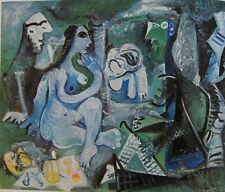 PICASSO LE DEJEUNER SUR L'HERBE 1960-1961 , GALERIE LOUISE LEIRIS 1962 DRAEGER