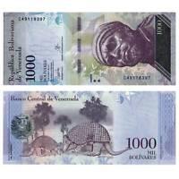Pick New Venezuela 1000 Bolivares 2017 Unc. / 595541vvv