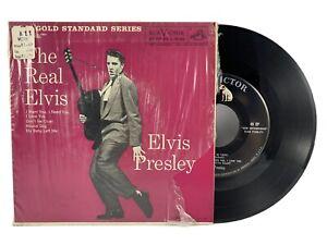 E.PRESLEY Real Elvis EP 1959 RCA Vic EPA-5120 Gold Standard 45RPM Top KING Hits