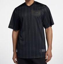 Air Jordan Practice Baseball Jersey Pinstripe Black 23 Medium NWT Retail $90