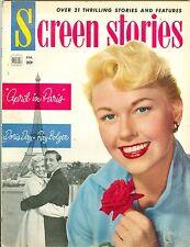 Doris Day Screen Stories magazine 1953 Dean Martin Jerry Lewis The Stooge