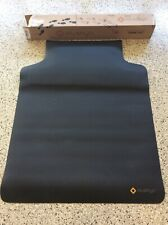 Black Office Chair Mat Foot Cushion Carpet Floor Protection Plastic Computer