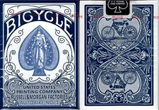 Autobike No. 1 Blue Bicycle Playing Cards Poker Size Deck USPCC Custom Limited