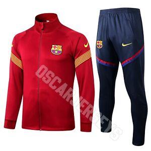 Barcelone FC Nike Survêtement complet tracksuit Training 2020 2021 FCB Barcelona