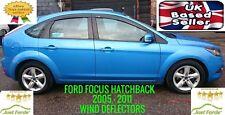 FORD FOCUS MK2 MK3 2005 - 2011 HATCHBACK 5 DOOR MODEL WIND DEFLECTORS DEFLECTOR