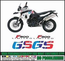 kit adesivi stickers compatibili F800 GS 2008 2012 MOTORRAD LIMITED