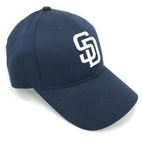 San Diego Padres Outdoor Cap Adjustable Hat One Size Curved Brim Blue White SD