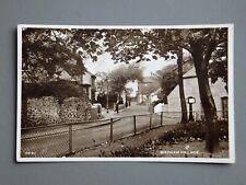 R&L Postcard: Bispham Village Scene, 1960 Real Photo by Photochrom