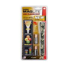 Maglite Mini LED 2 Cell AA Alkaline Batteries Flashlight Universal Camo SP22MRH