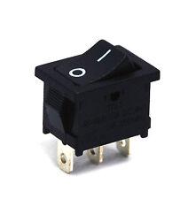 10pc Rocker Switch 3P SPDT On-On 10A125V 6A250 JS-606B-Q1-B/B-3H no Lamp JEC