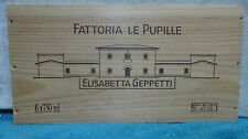 FATTORIA LE PUPILLE ELISABETTA GEPPETTI WOOD WINE PANEL END