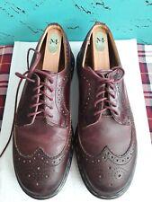 DOCTOR MARTENS Oxblood WingTip Oxford Dress Shoes Mens UK 8 US 9 Made n England