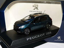 1 43 NOREV Peugeot 2008 2016 Darkgreen-metallic