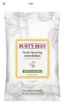 Burt's Bees Facial Cleansing Towelettes for Sensitive Skin - 10 Wipes