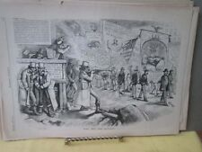 Vintage Print,WHO ARE THE HATERS,Harpers,Nast,1872