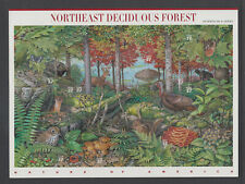 US #3899 Northeast Deciduous Forest 39 Cents Complete Sheet of 10 MNH