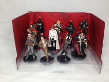 Disney Star Wars Rouge One 10pc Christmas Ornaments Figure Set Jyn Cassian K-2SO