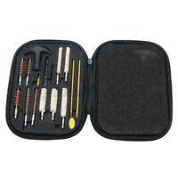 16pcs Pistol Gun Cleaning Kit Case Universal For 22 357 38 40 44 45 9mm Guns US