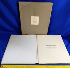 Andrew Wyeth Four Seasons 12 Prints Litho Book Portfolio 1962 1st VTG Rare