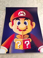 Mario-BottleneckBy Guillaume Morellec-Screen Print! Sold Out!