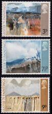 GB 1971 Painting 3v SHORT set MNH @E2734