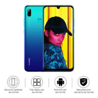 """New Huawei P Smart 2019 Blue 6.21"""" 64GB LTE Octa Core Android 9.0 Sim Free UK"""